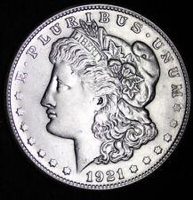 1921-S Morgan Silver Dollar XF / AU90% SILVER! FREE SHIPPING d
