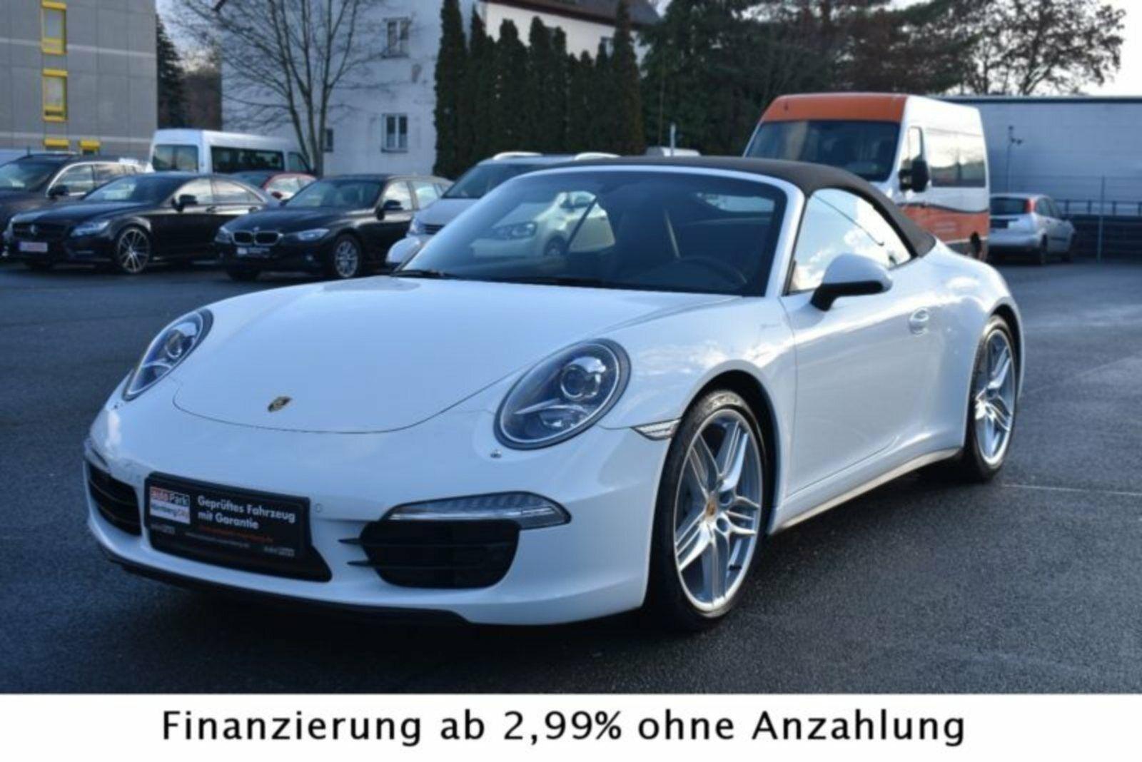 Porsche 911 Carrera 4 3,4 Cabriolet PDK 2d - 12.977 kr.