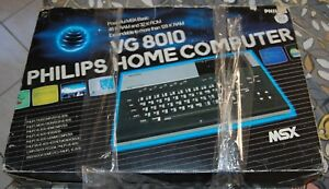 PHILIPS-HOME-COMPUTER-VG-8010-MSX-RETROCOMPUTER-COMPUTER-VINTAGE-USATO