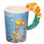 thumbnail 33 - Animal Shaped Handle Ceramic Mug Tea Coffee Cup Novelty Gift Jungle Tropical