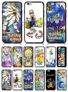 finest selection 01ce3 3f989 Pokemon Sun and Moon Case Eevee Mewtwo Charizard For iPhone case ...
