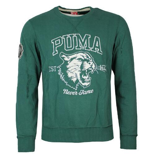Puma Varsity Gráfico Sudadera Cuello ROTondo Jersey Suéter Hombre 568290 13