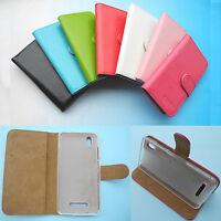 Prestigio Wize M3/ N3/ P3-Wallet Folder Stand Flip PU Leather Case Cover 4G LTE