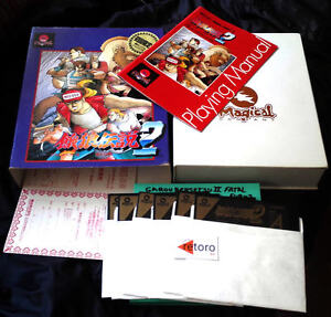 FATAL-FURY-2-Garou-Densetsu-2-Sharp-X68000-Japones-Buen-Estado-Japanese-SNK