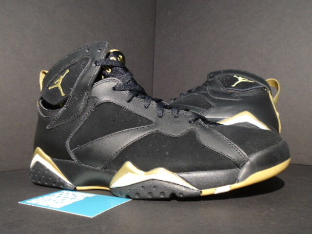 Nike Air Jordan VII 7 Retro GMP GOLDEN MOMENT GOLD MEDAL PACK BLACK WHITE 10.5 The latest discount shoes for men and women