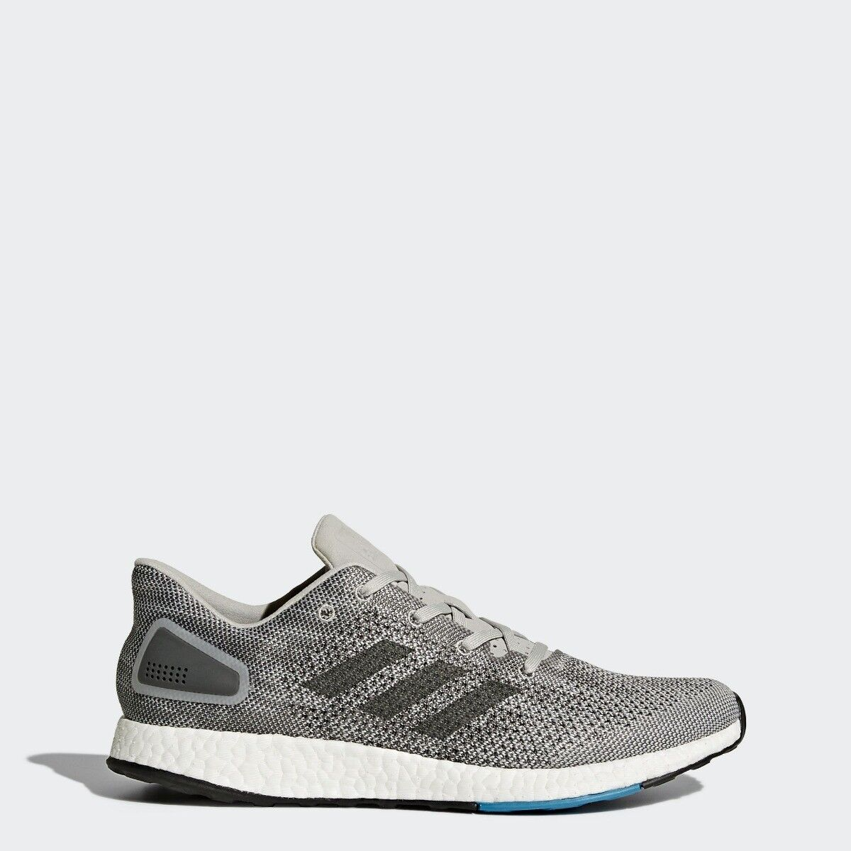 Adidas PureBoost Mens Running Trainer shoes Size 6.5-10.5 Greys   -