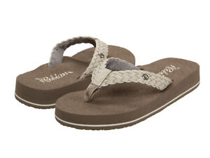 Image is loading Women-Cobian-Braided-Bounce-Flip-Flop-Sandal-BRB10-