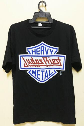 VINTAGE 80s JUDAS PRIEST ROCK METAL TOUR CONCERT T
