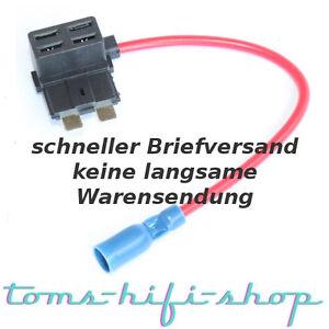 Mini-Flachsicherungsadapter-mit-Abgriff-12V-Stromdieb-Stromabgreifer-Auto-PKW