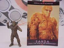 War of the Gargantuas Mini Figure SANDA With card 28-11-15 Tokusatsu Kaiju