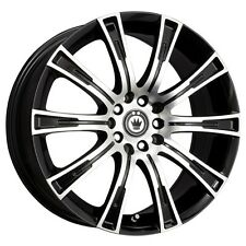 KONIG CROWN 17x7.5 5x112/120 ET35 Black Rim (Set of 4)