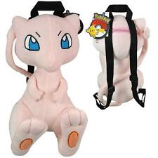 "New Pokemon Mew Plush Doll Backpack Soft Stuffed 14"" Costume Bag"