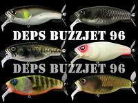 Deps Buzzjet 96 Topwater Bass Fishing Lures.