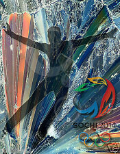 Olympic Poster/ 2014 Olympic figure skater/ Male 14x18 inch