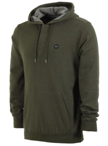 RVCA Mens Lupo Pullover Hooded Fleece Sweatshirt
