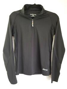 Sherpa-Adventure-Gear-Pullover-1-4-Zip-Women-039-s-Size-Large-Black