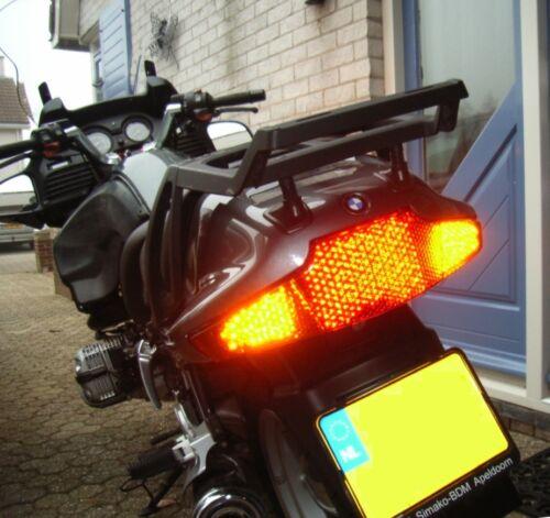 Clair led queue lumière avec signaux bmw r 850 rt r 1100 rt r 1150 rt