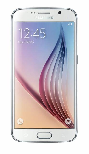 Samsung Galaxy S6 Perla 32GB Blanco Desbloqueado De Fábrica Buenas Condiciones Y Garantía