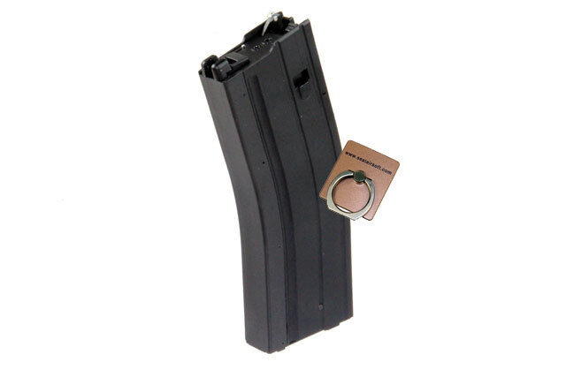 Jing GONG in metallo Airsoft Giocattolo 50 RDS Gas Magazine per JG M4 GBB JGMC20