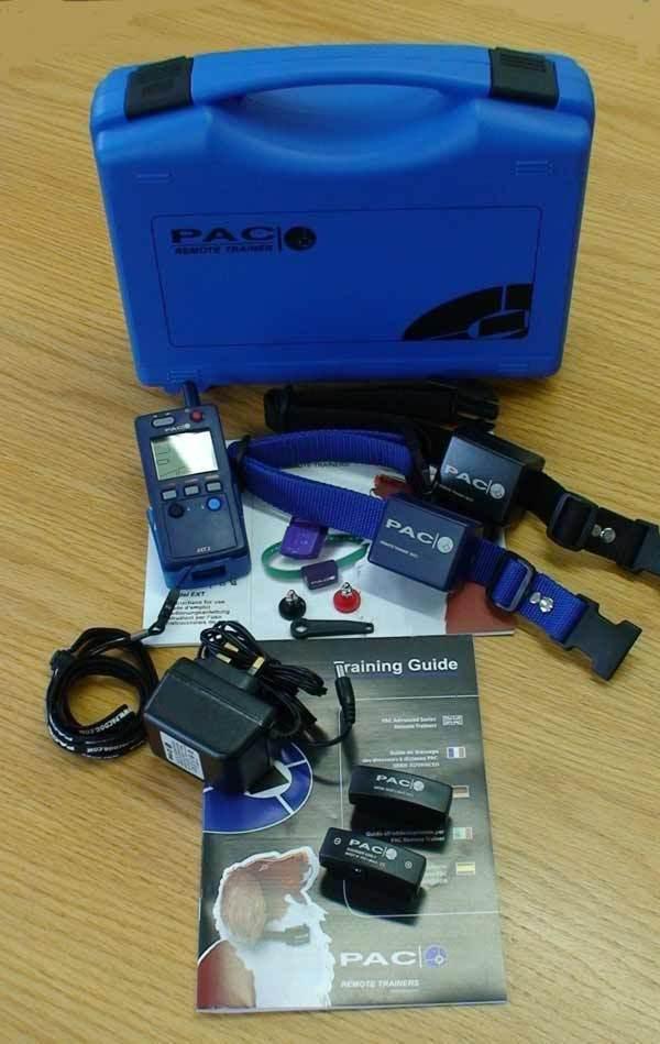 CS PAC EXT21DEXC7 Digital Remote 1 Cane con Colletto EXC4 Trainer Range 1 miglio