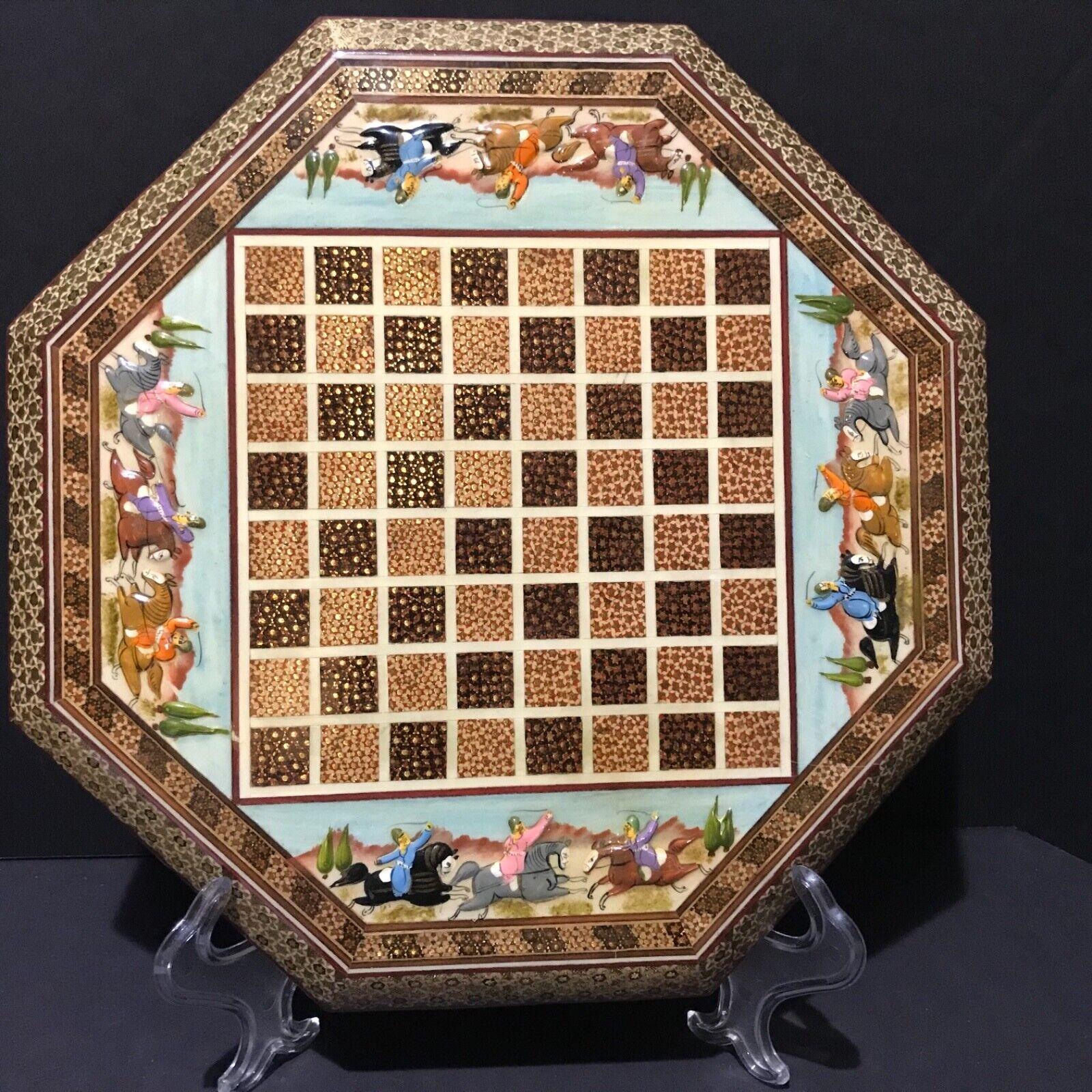 boisen  Chess Board Hand Painted Asian Design Mosaic  centre commercial de la mode