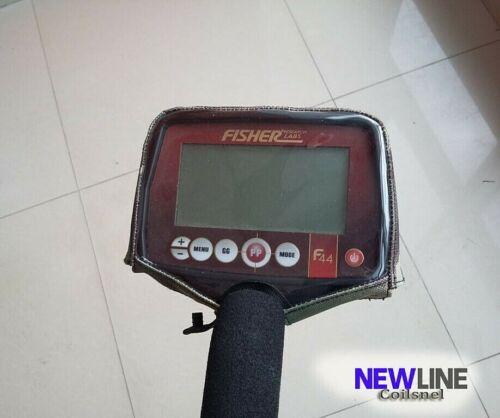 Boîtier de commande Housse pour Fisher F11//F22//F44 détecteurs de métaux pluie Dirt Camo