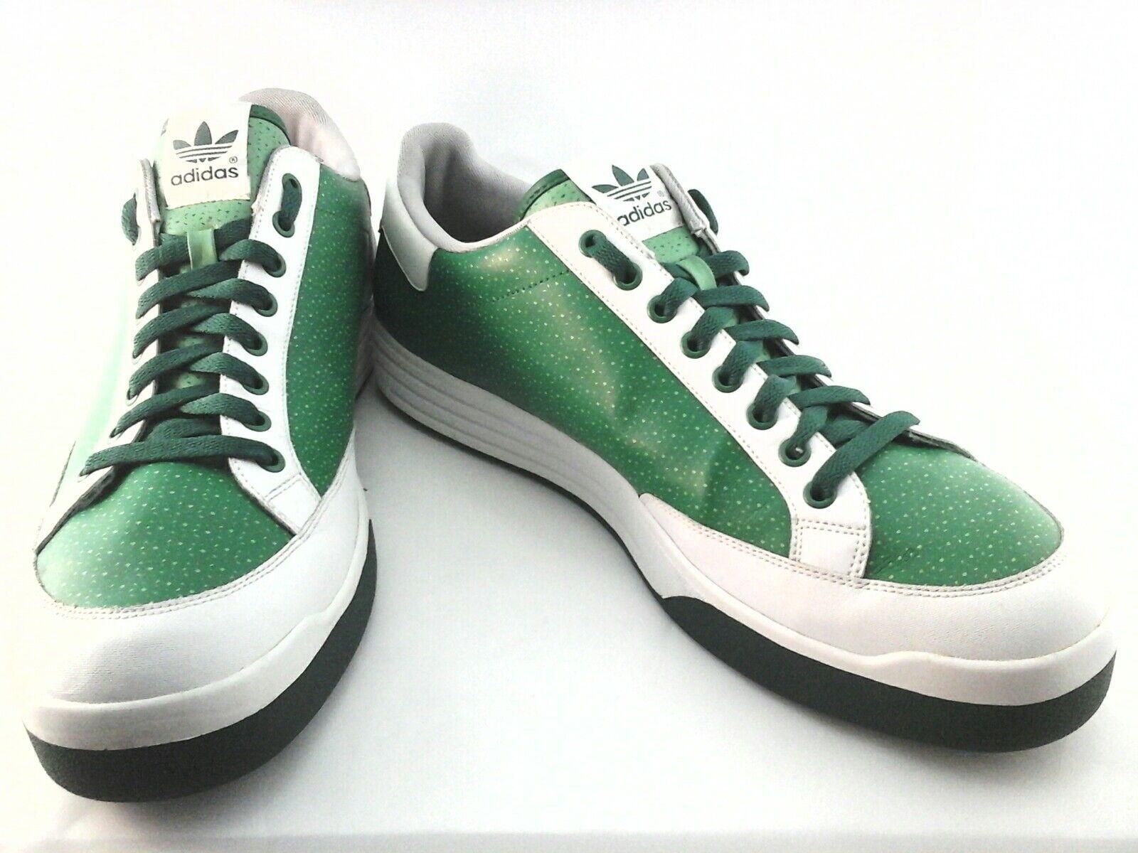 outlet store 9416e 49fc8 Adidas Rod Rod Rod Laver Tenis Deportivas Zapatos para hombre Blanco Verde  2018 US 15 3 excelente condición usada poco común d6fd12
