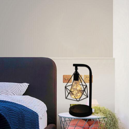 LED Tischleuchte Tischlampe Nachttischlampe Diamond Shape Matt Industrie Design.
