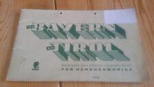 xex   von Bayern bis Tirol, Volksmelodien für Handharmonika, Noten, akzeptabel