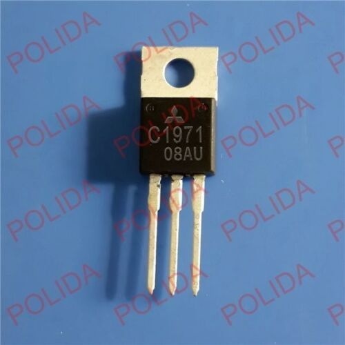 1PCS RF//VHF//UHF Transistor MITSUBISHI TO-220 2SC1971 C1971 100/% Genuine and New