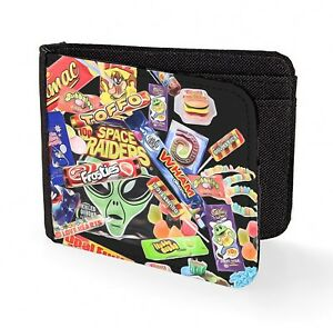 Details zu retro sweets wallet credit card candy kids 90s 80s classic art print chocolate