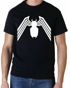 VENOM-LOGO-SUPER-HEROS-SPIDERMAN-T-SHIRT-ENFANTS