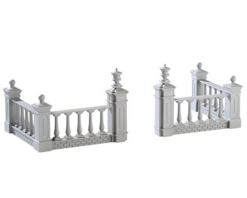 """LEMAX hivernal /""""Plaza Fence/"""" clôture de jardin 4-tlg"""