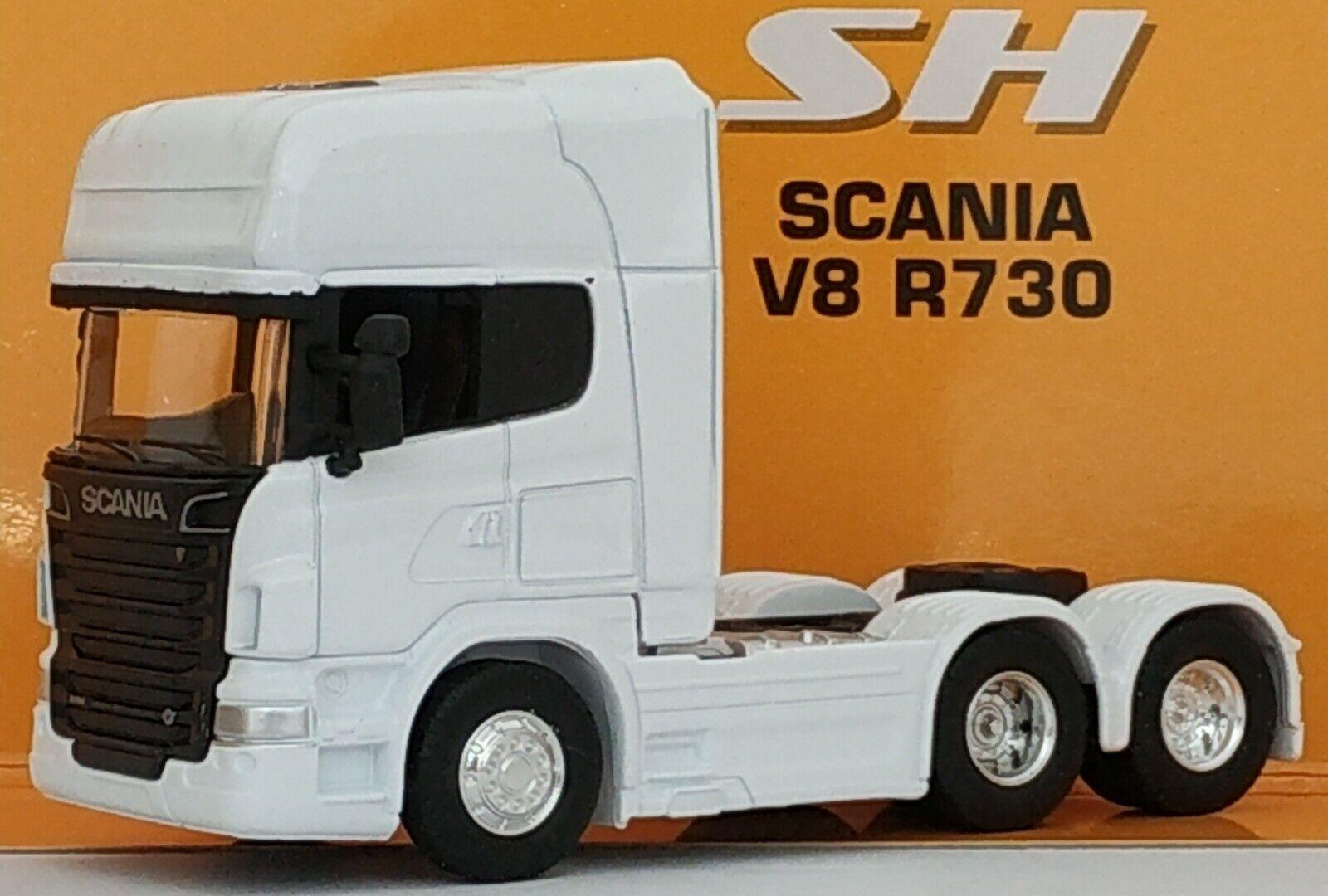1 64 CAMION  CABEZA TRACTORA SCANIA V8 R730 6X4 COCHE DE METAL A ESCALA  meilleure offre