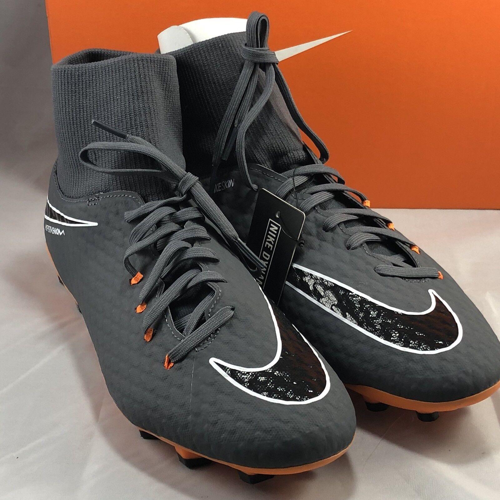 Nike Men's Hypervenom Phantom 3 Academy DF FG Size 11.5 (AH7268 081)