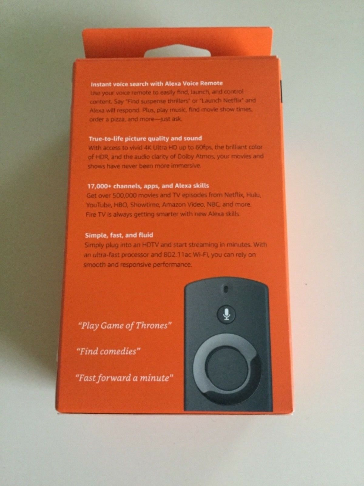 Amazon Fire TV (3rd Generation) Media Streamer - Black