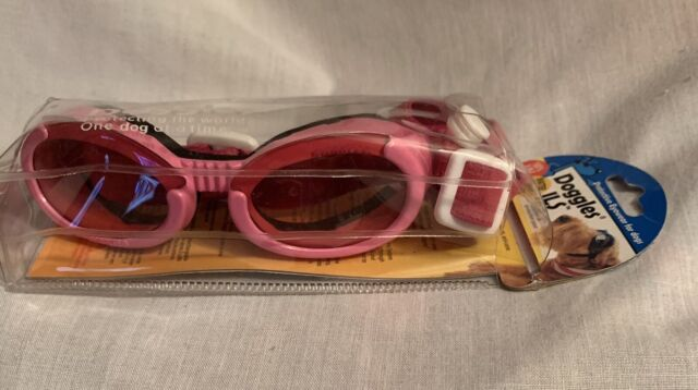 Doggles ILS Pink Hot Pink Sz S Goggles Eye Protection for Dogs