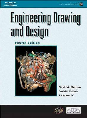 Engineering Drawing and Design by Madsen, David A.
