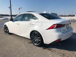 2016 Lexus IS 300: F-Sport 2 (58KM') Staggered wheels + Winters
