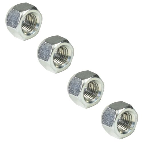 Pack of 4 M12 x 1.5 Wheel Studs And Nuts For 100mm PCD Trailer Hubs