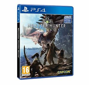 Monster-Hunter-World-ps4-PlayStation-4-juego-Game-Box-set-dt-utilizarla-nuevo-embalaje-original