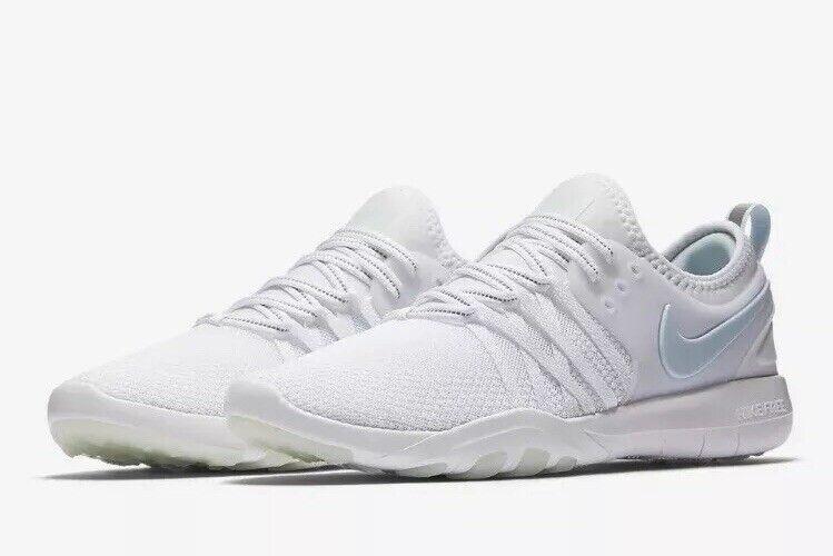 Nike Free TR 7 Reflect AA2238-100 White Glacier bluee UK 7 EU 41 US 9.5 New