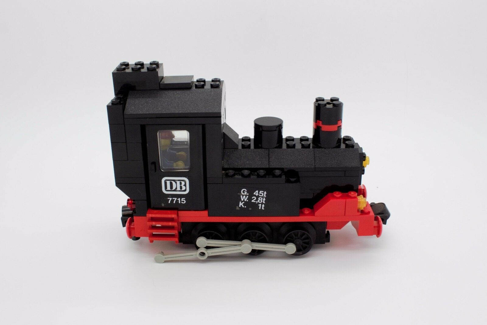 Lego Railway Wagon Locomotive Train Freight Train Freight Car 7715 7745
