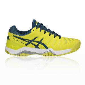 chaussure asics homme jaune
