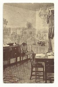 OLNEY-MD-Inn-Restaurant-Maryland-Room-Vtg-B-amp-W-Postcard