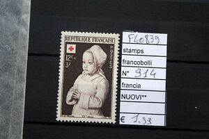 FRANCOBOLLI-STAMPS-FRANCIA-NUOVI-MNH-N-914-F40839