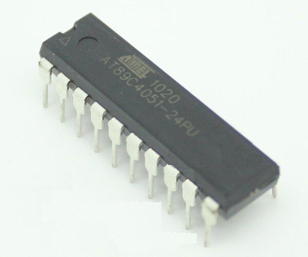 8bit Dip-20 24 Mhz 8051 Atmel at89c2051-24pu Mcu