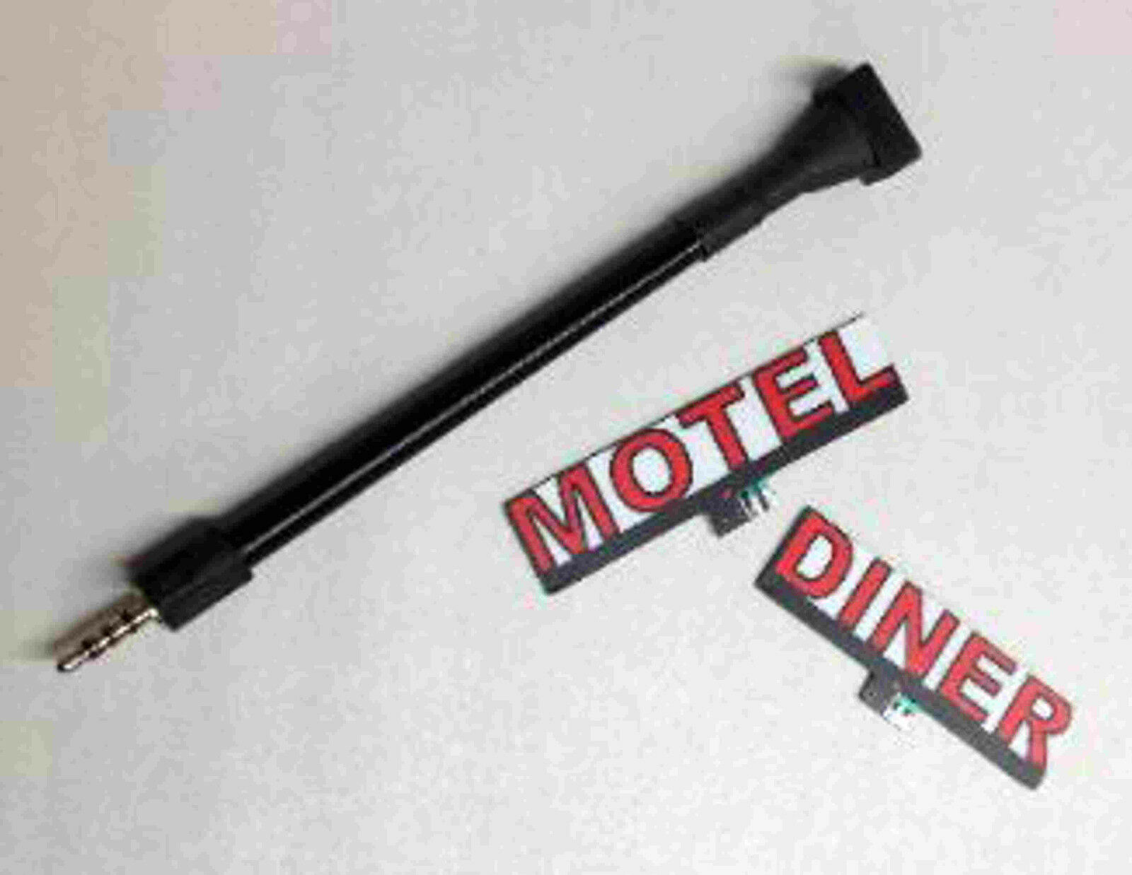 AMOCO GAS TERRIFIC rossoATING ANIMATED SIGN- SIGN- SIGN- MILLER ENGR O HO SCALE-DON'T WAIT   2d8b2d