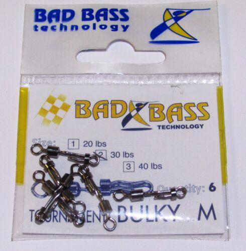 Attacco Rapido Bulky M Tournament Bad Bass Sgancio rapido per piombo e trave