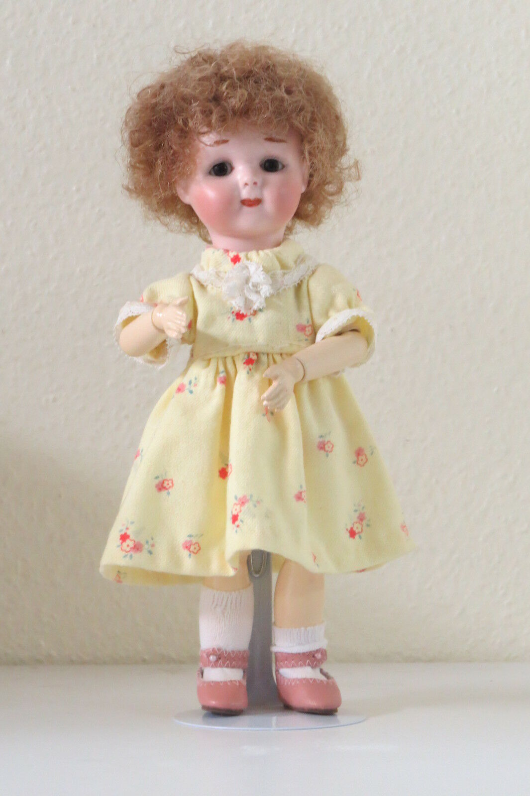 Googlie A.M 243 24 cm 9,6 Pulgadas Muñeca Antigua Reproducción Antique doll